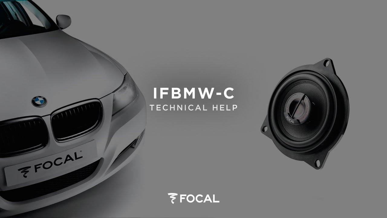 kit auto BMW IFBMWC - Focal | Focal | Listen Beyond