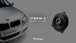 Installing a Focal IFBMW-C coaxial speaker dedicated to BMW® 1/3/5 & X1