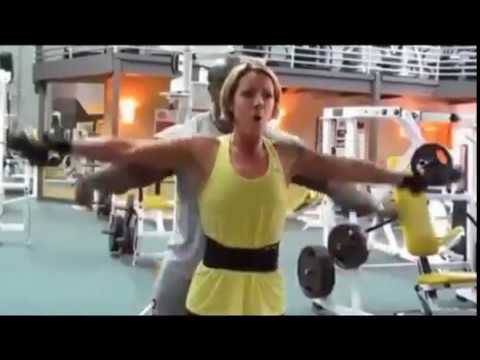 Freddy Palmer Personal Trainer Ottawa Back and Shoulder Workout With Client Christina