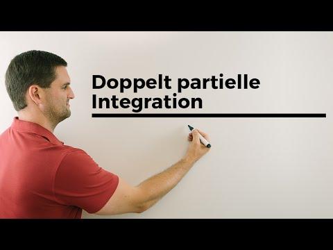 Doppelt partielle Integration, Beispiel mit x^2*e^-x, Stammfunktion bilden | Mathe by Daniel Jung