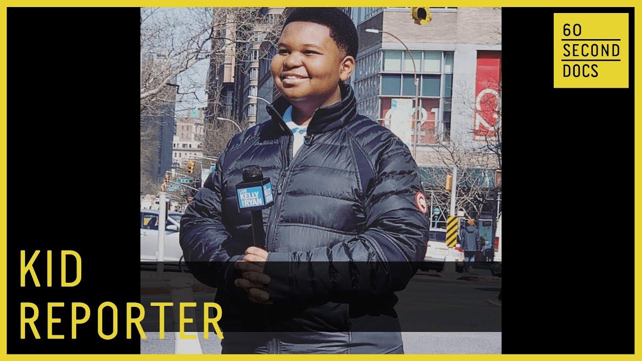 Meet Jaden Jefferson, Kid Reporter