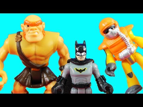 Imaginext Batman Goes On A Helicopter Ride And Helps Toy Story Buzz Lightyear