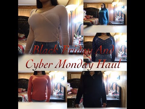 Black Friday And Cyber Monday Haul: Jcpenney,Hollister,Charlotte Russe