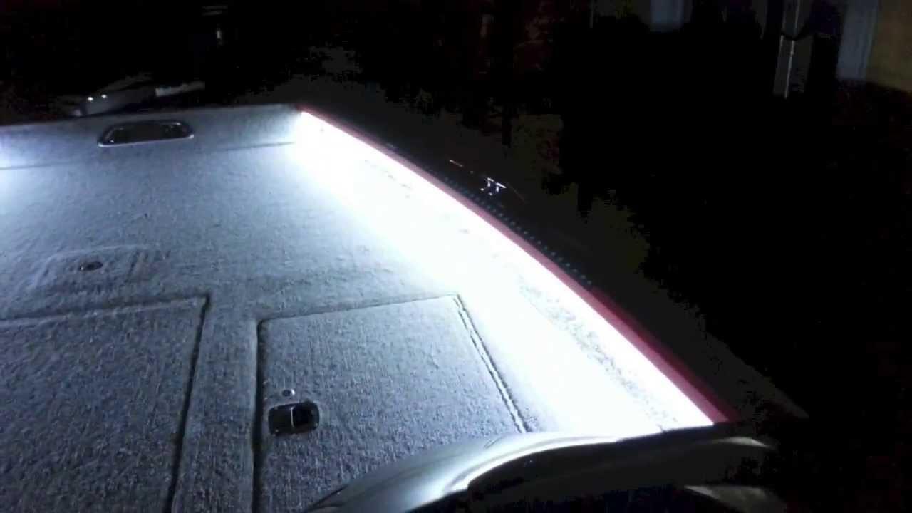 Lights on boat   YouTube. Exterior Led Lights For Boats. Home Design Ideas