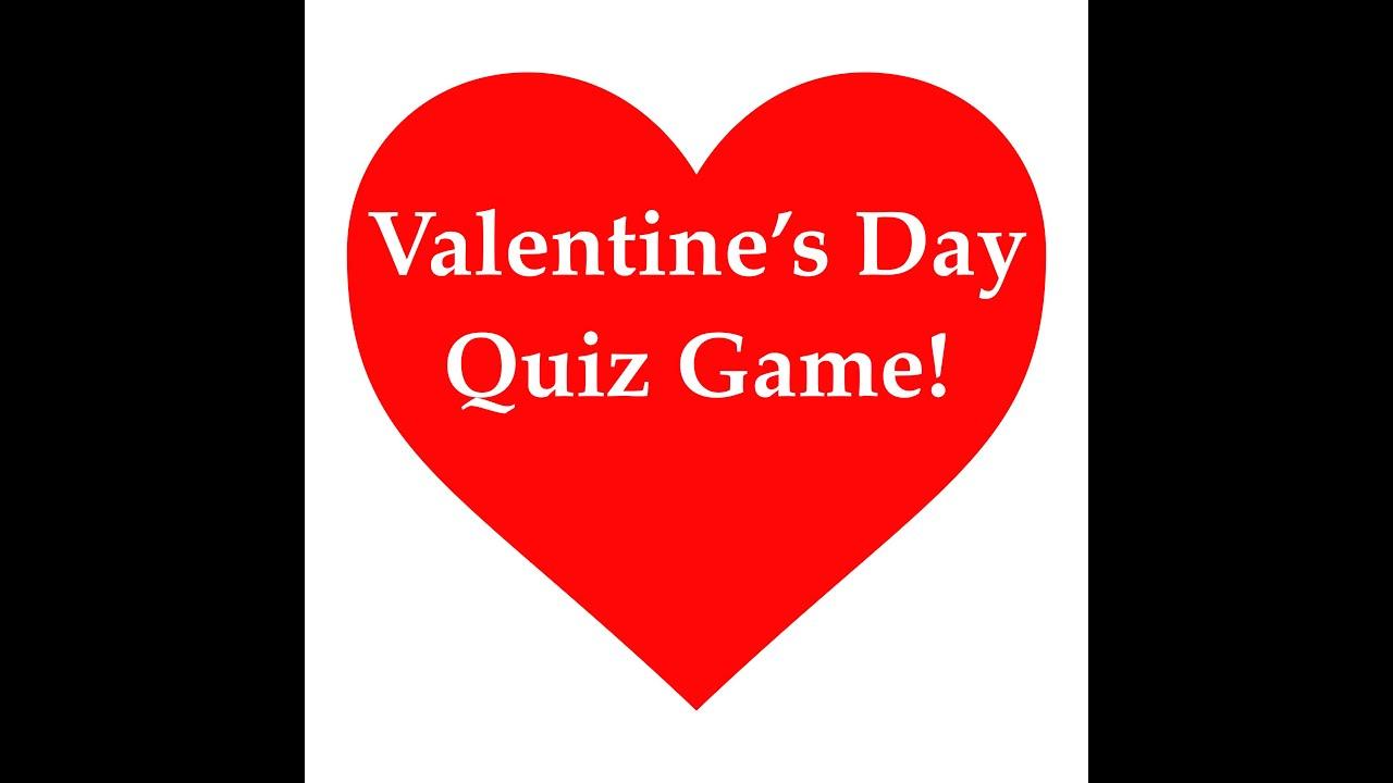 valentines day quiz game special