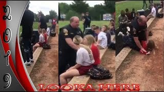 Police Handles a Young WHITE Girl & Puts Her Face in the Dirt-SWEEEEEEEET