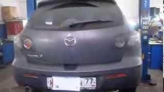 сажевый фильтр Мазда. Удаление и программное отключение сажевого фильтра Mazda 3