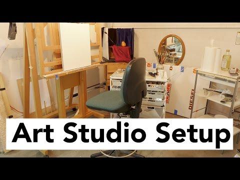 Art Studio Setup