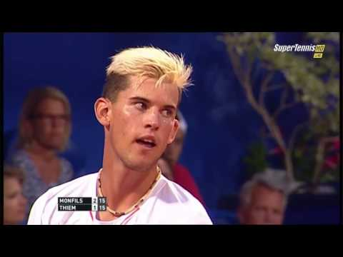 Gael Monfils vs Dominic Thiem FULL MATCH HD CROATIA OPEN 2015