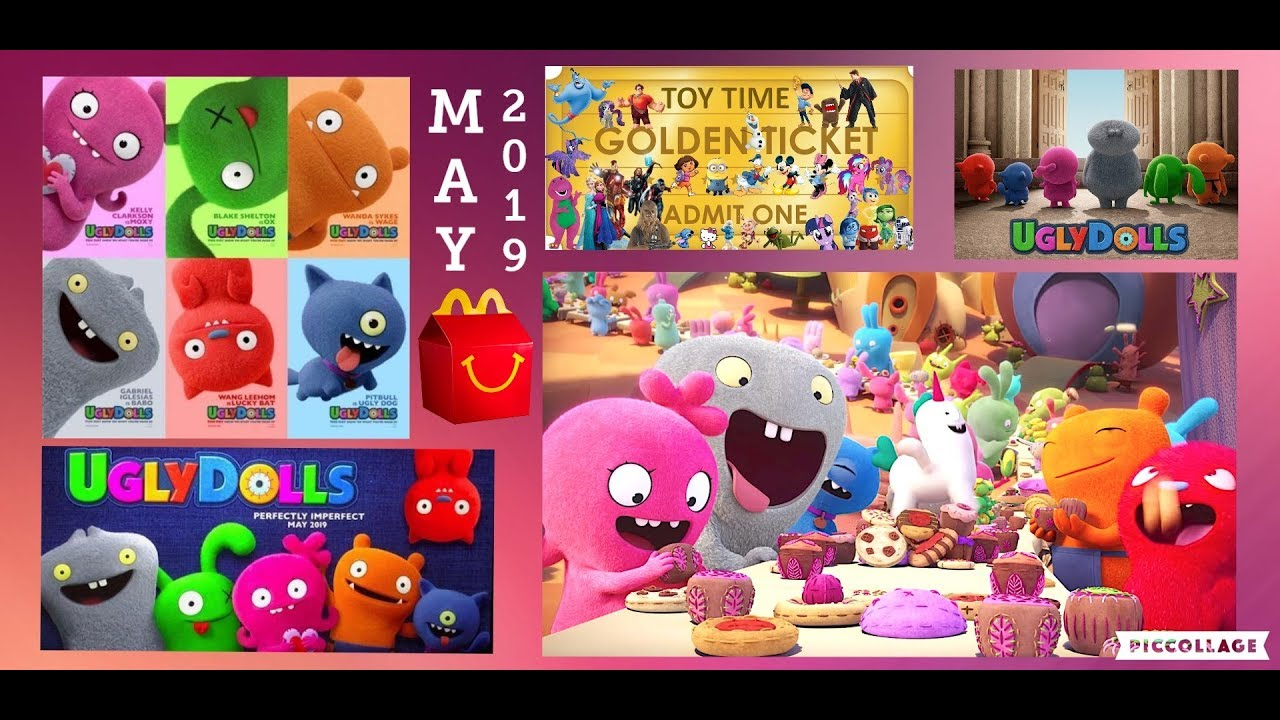 Mcdonald S May Get The Ugly Dolls Movie Happy Meal Toys In