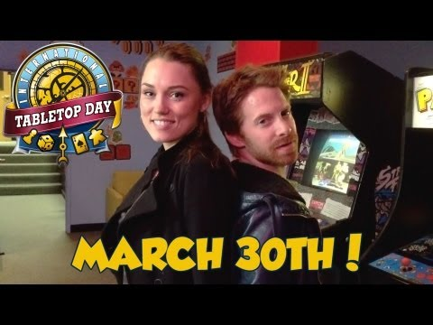 The Seth Green and Clare Grant #TableTopDay Dance Craze