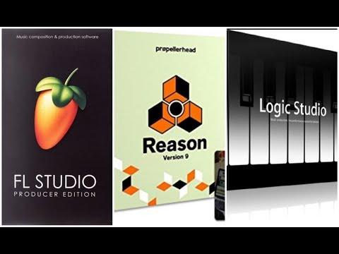 FL Studio vs. Logic Vs. Reason - Rap Music Producer Tips (WAV files)