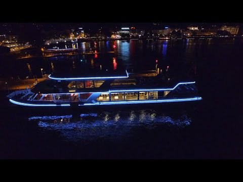 Zurich by night drone Video Dji Phantom 3 | Dji Osmo