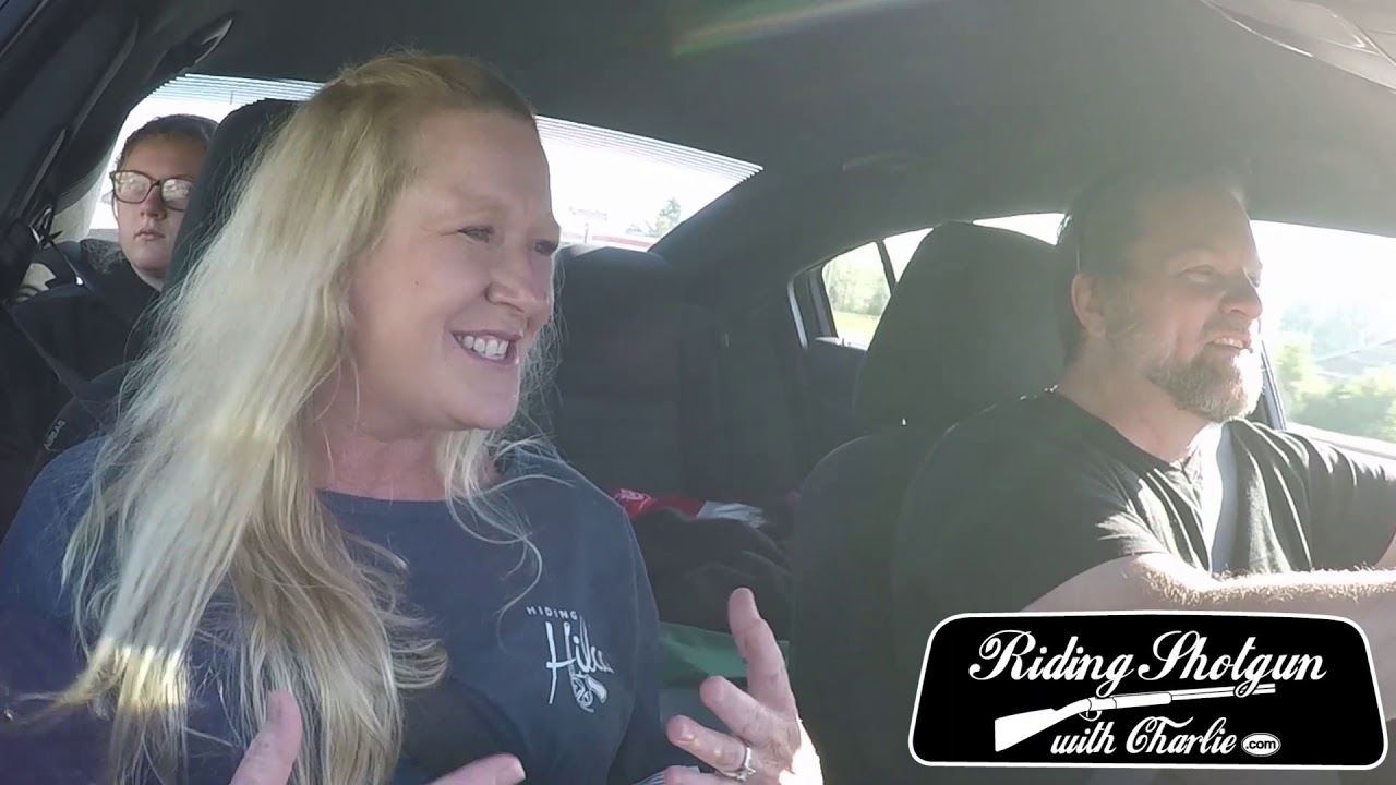 Riding Shotgun With Charlie #077 Dawn Hillyer