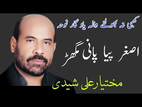 Download Asghar Pia Pani | Mukhtiar Ali Sheedi | Old Noha 2009-20 | 5Tan Pak