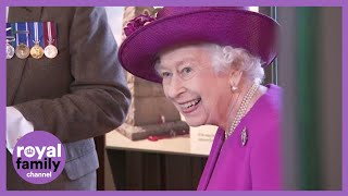 The Queen Visits Stirling Castle During Scotland Stay