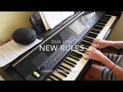 New Rules- Dua Lipa    Piano Cover