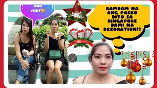 DECEMBER VLOG | Around Orchard Road Singapore-| Dally Andrada