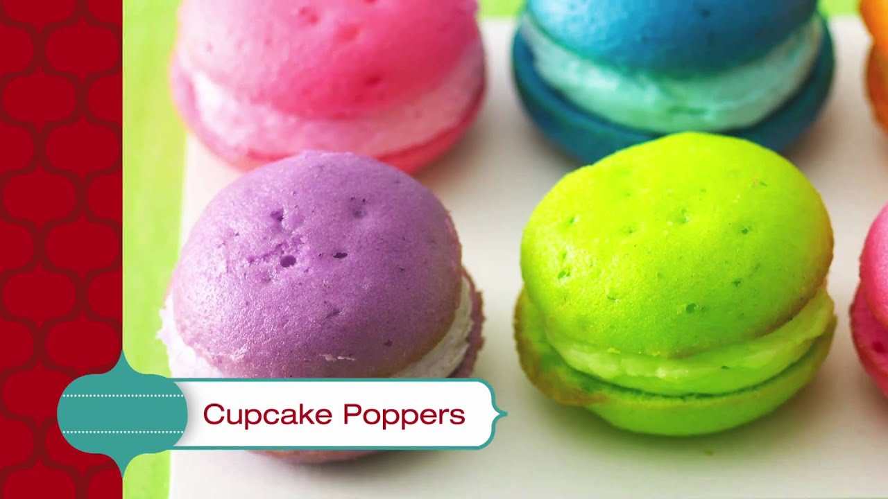 Cupcake Poppers - Betty Crocker\'s Red Hot Holiday Trends