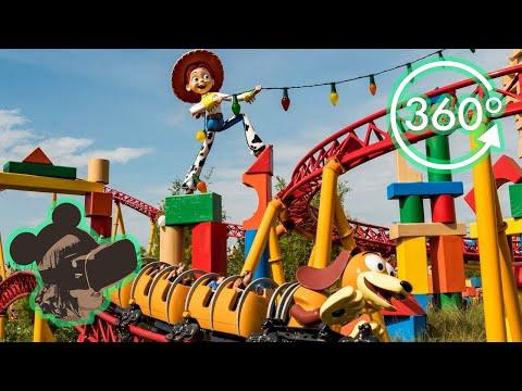 360º Ride On Slinky Dog Dash