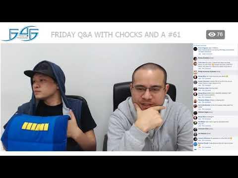 F4F Q&A with Chocks & A #61 - 9th March 2018