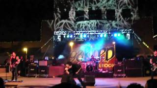 Filter - The Inevitable Relapse (live) @ Hayden Square in Tempe, AZ 3-17-11