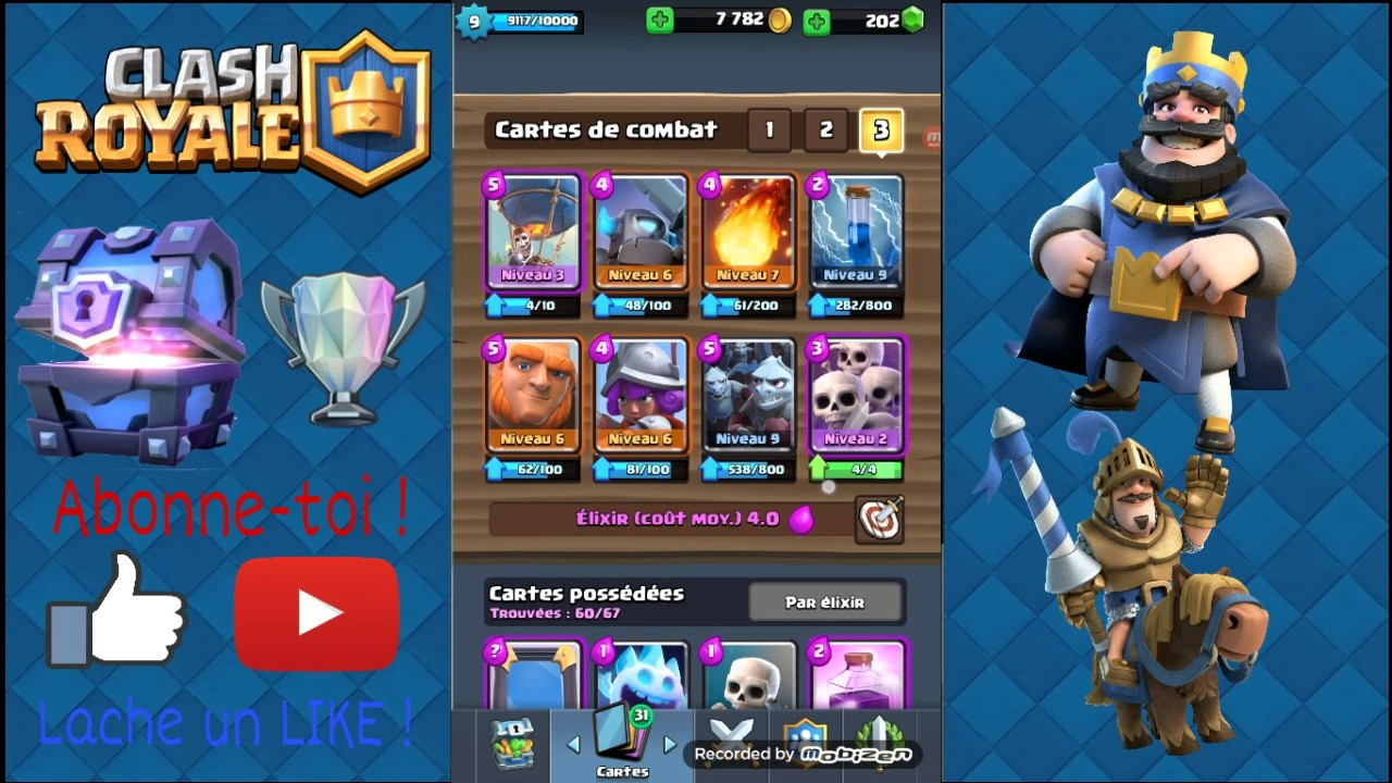 Clash royale deck arene 5 6 7 8 9 10 youtube for Clash royale meilleur deck arene 7