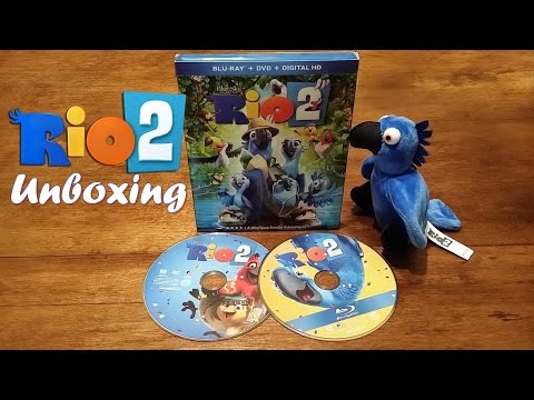 Rio 2 Target Exclusive Unboxing with Plush Toy (Blu-ray + DVD + Digital Copy + UltraViolet)