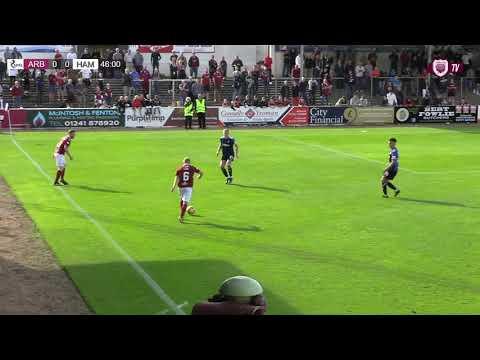 Arbroath Hamilton Goals And Highlights