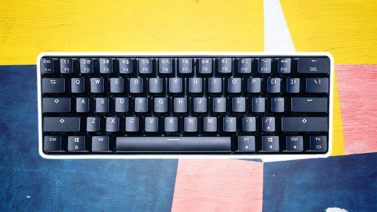 4cd47751bc9 Wireless 60% Mechanical Keyboard Under $40? ~ Velocifire Mini Review ...