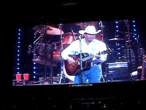 Entrance of George Strait @ Dallas Cowboys Stadium 6/6/9 Inaugural Event