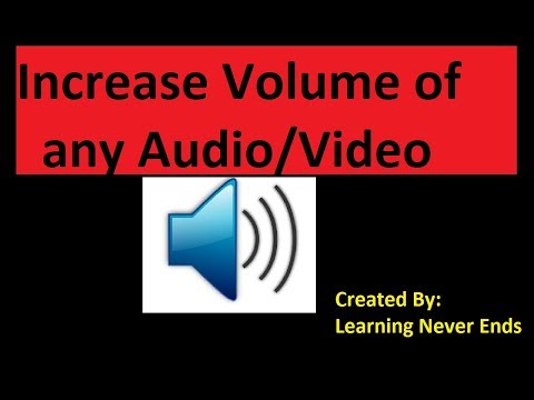 Wondershare Filmora Tutorial 4: Increase Volume of Any Video or Audio in Hindi   Learning Never Ends