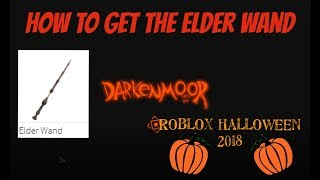 (EVENT) How To Get The Elder Wand | Roblox Halloween 2018