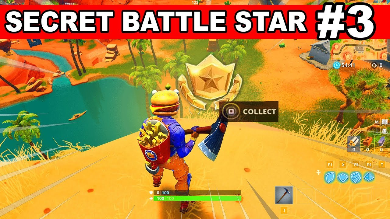 Week 3 Secret Battle Star Location From Loading Screen In Fortnite