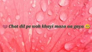 Aise lehra ke tu rubaru aa gayi whatsapp status whatsapp video whatsapp romantic love video