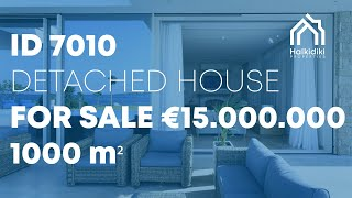 Halkidiki Properties Developments & Constructions | Villa Natalia Sithonia Vourvourou BRAND NEW