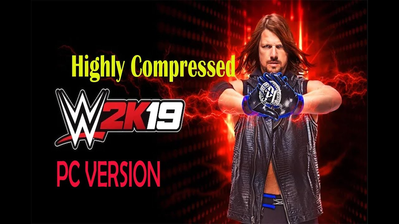 wwe 2k19 pc download highly compressed