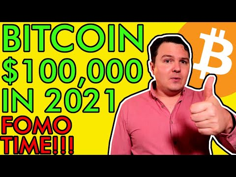 BITCOIN WILL HIT $100,000 IN 2021, BUY WHILE ITS STILL CHEAP! [Here's My Prediction]