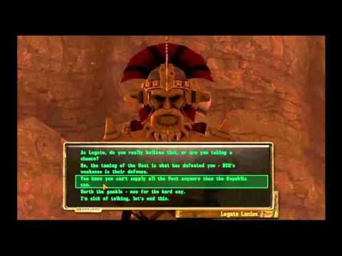 Fallout New Vegas: Defeating Legate Lanius with Barter