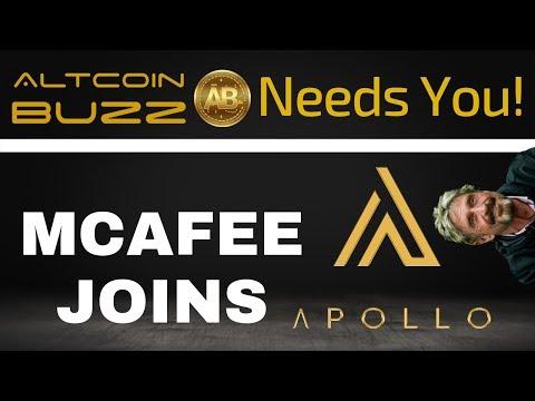 Altcoin Buzz Needs You! + John McAfee Joins Apollo - Today's Crypto News