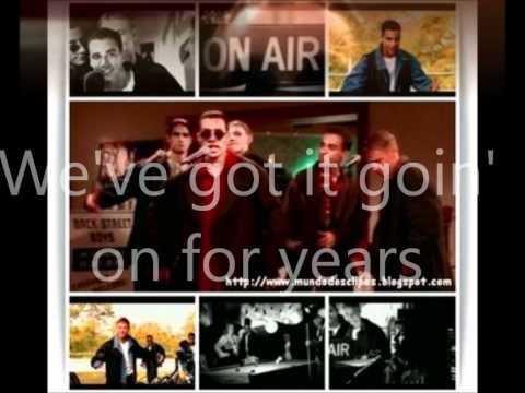 Backstreet Boys We've Got It Goin' On Lyrics