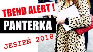 JAK NOSIĆ PANTERKĘ   TRENDY JESIEŃ ZIMA 2018/ 2018   PORADNIK STYLU ShoeLove