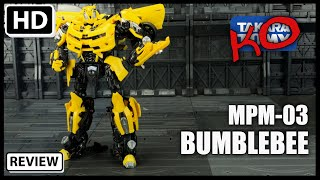 KO Transformers Masterpiece Movie Series MPM-03 BUMBLEBEE