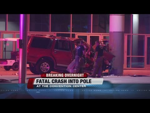 58-year-old man dead following crash at Las Vegas Convention Center