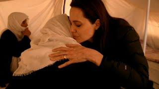 ジョリー特使:イラクの国内避難民を訪問