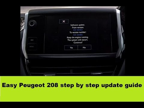 Peugeot 208 Smeg+ Firmware Update Step By Step