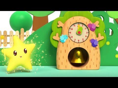 Малышарики - песенка - «Тик-Так»⏰- для самых маленьких - клип на песню