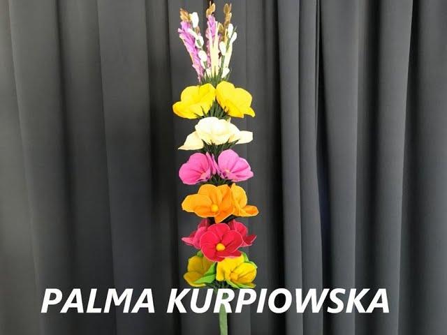 Warsztaty Rekodziela Kurpiowska Palma Wielkanocna Youtube