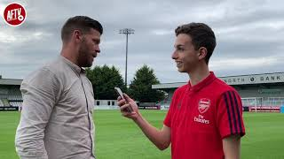 "Borehamwood Manager Luke Garrard: ""I'm Satisfied With Our Performance!"" | Borehamwood 3-3 Arsenal XI"