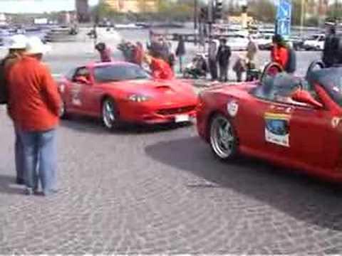 Ferrari 60 Years Relay in Stockholm